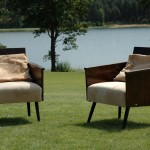 two arm-chairs